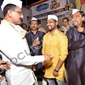 Sunil Pujari with Sunil Ji Rane