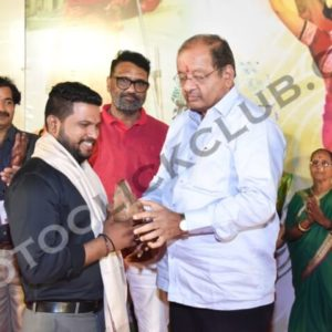 Sunil Pujari Felicitated by Gopal Shetty