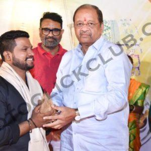 Sunil Pujari Felicitated