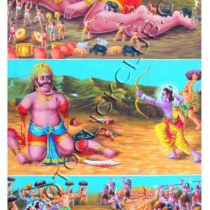 Kumbhakarna Vadh in Ramayan