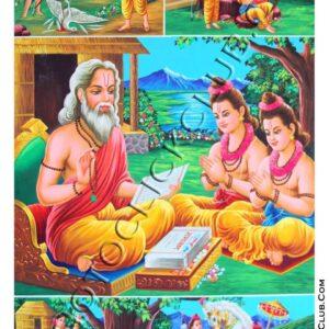 Luv Kush in Valmiki Ashram